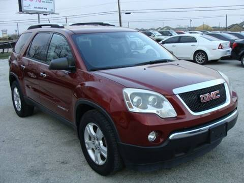 2008 GMC Acadia for sale at PREMIER MOTORS OF PEARLAND in Pearland TX