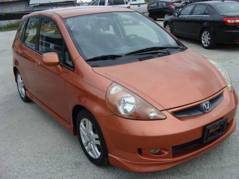 2008 Honda Fit for sale at PREMIER MOTORS OF PEARLAND in Pearland TX