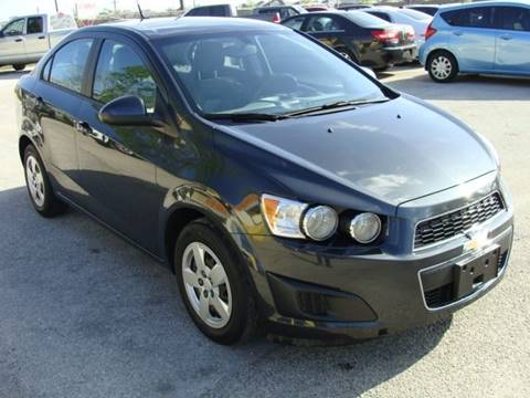2014 Chevrolet Sonic for sale at PREMIER MOTORS OF PEARLAND in Pearland TX