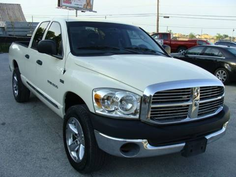 2007 Dodge Ram Pickup 1500 for sale at PREMIER MOTORS OF PEARLAND in Pearland TX