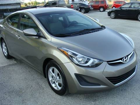 2014 Hyundai Elantra for sale at PREMIER MOTORS OF PEARLAND in Pearland TX