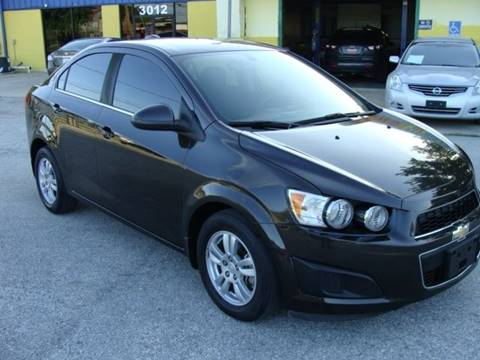 2015 Chevrolet Sonic for sale at PREMIER MOTORS OF PEARLAND in Pearland TX