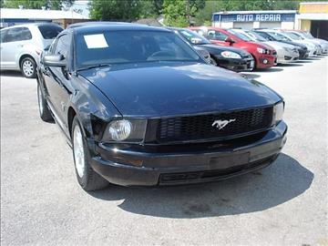 2009 Ford Mustang for sale at PREMIER MOTORS OF PEARLAND in Pearland TX