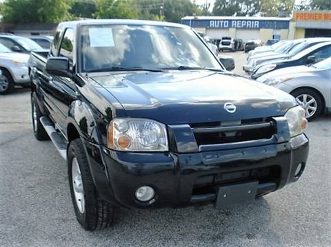2002 Nissan Frontier for sale at PREMIER MOTORS OF PEARLAND in Pearland TX