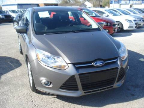 2012 Ford Focus for sale at PREMIER MOTORS OF PEARLAND in Pearland TX