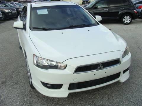 2009 Mitsubishi Lancer for sale at PREMIER MOTORS OF PEARLAND in Pearland TX