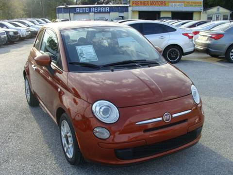 2012 FIAT 500 for sale at PREMIER MOTORS OF PEARLAND in Pearland TX