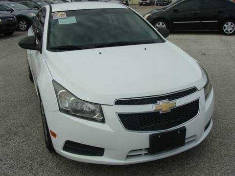 2011 Chevrolet Cruze for sale at PREMIER MOTORS OF PEARLAND in Pearland TX