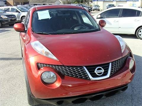 2011 Nissan JUKE for sale at PREMIER MOTORS OF PEARLAND in Pearland TX