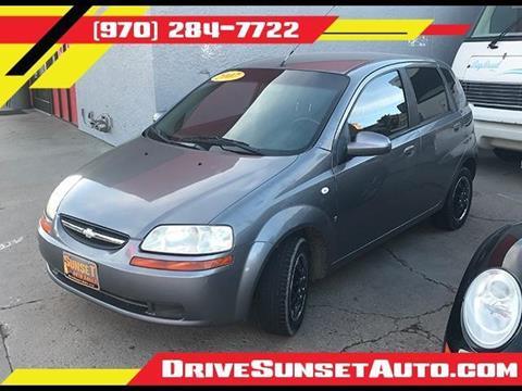 2007 Chevrolet Aveo for sale in Lasalle, CO