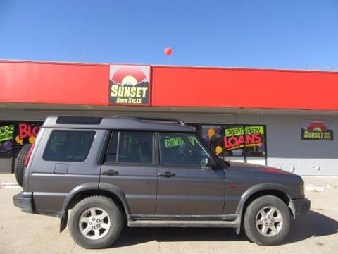 2004 Land Rover Discovery for sale at Sunset Auto Sales & Repair in Lasalle CO