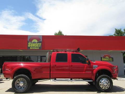 2008 Ford F-350 Super Duty for sale at Sunset Auto Sales & Repair in Lasalle CO