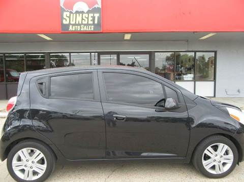 2013 Chevrolet Spark for sale at Sunset Auto Sales & Repair in Lasalle CO