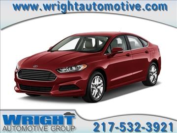 2015 Ford Fusion for sale in Hillsboro, IL