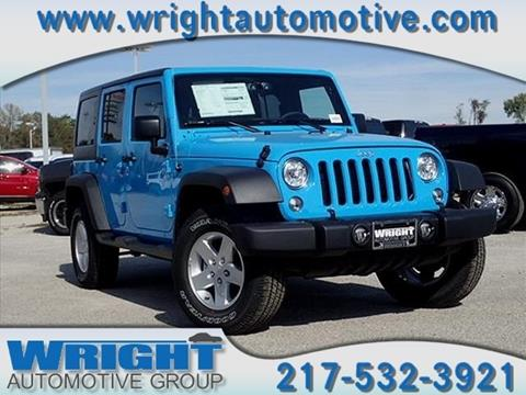 2017 Jeep Wrangler Unlimited for sale in Hillsboro, IL