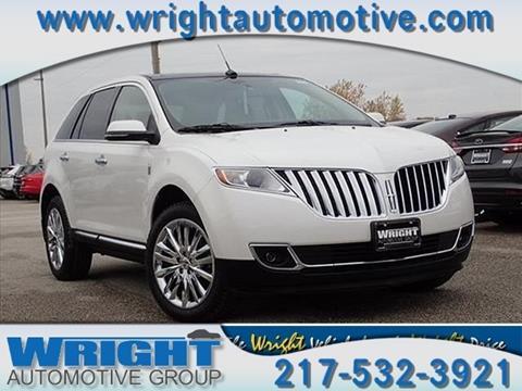 2014 Lincoln MKX for sale in Hillsboro, IL