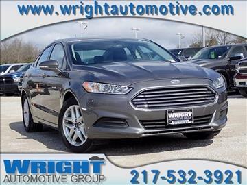 2014 Ford Fusion for sale in Hillsboro, IL