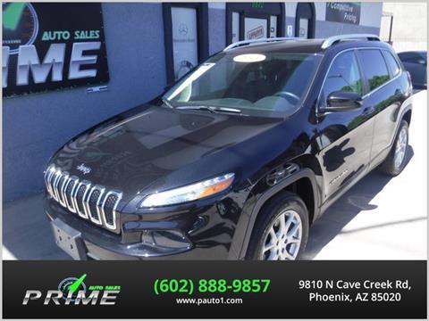 2016 Jeep Cherokee for sale in Phoenix, AZ