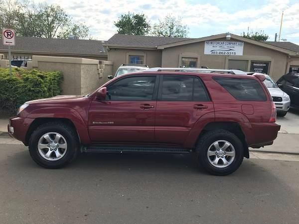 2005 toyota 4runner sport edition 4wd 4dr suv in englewood co his motorcar company. Black Bedroom Furniture Sets. Home Design Ideas