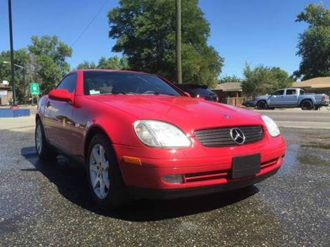 1998 Mercedes-Benz SLK for sale at His Motorcar Company in Englewood CO