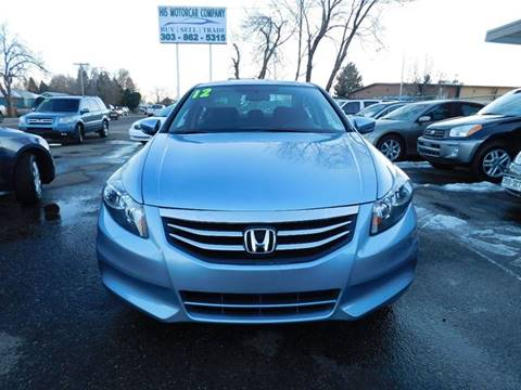 2012 Honda Accord for sale at His Motorcar Company in Englewood CO