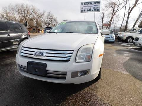 2008 Ford Fusion for sale at His Motorcar Company in Englewood CO