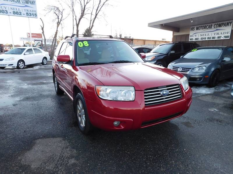2006 subaru forester awd 2 5 x premium package 4dr wagon 4a in englewood co his motorcar company. Black Bedroom Furniture Sets. Home Design Ideas