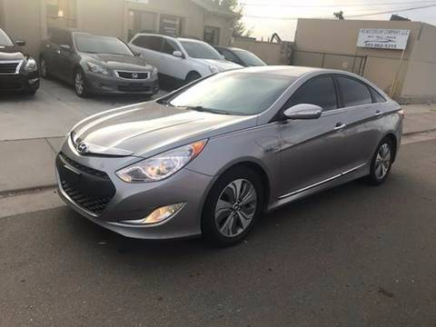 2013 Hyundai Sonata Hybrid for sale at His Motorcar Company in Englewood CO