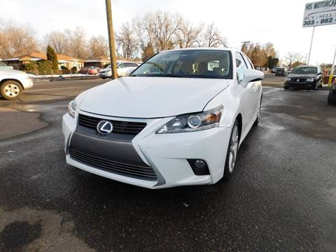 2014 Lexus CT 200h for sale at His Motorcar Company in Englewood CO