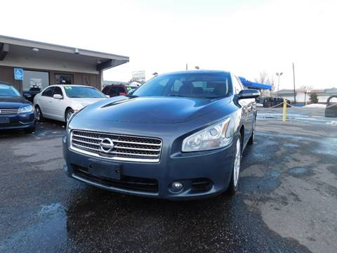 2009 Nissan Maxima for sale at His Motorcar Company in Englewood CO