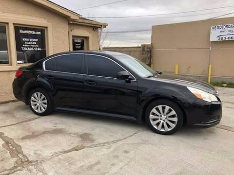2011 Subaru Legacy for sale at His Motorcar Company in Englewood CO