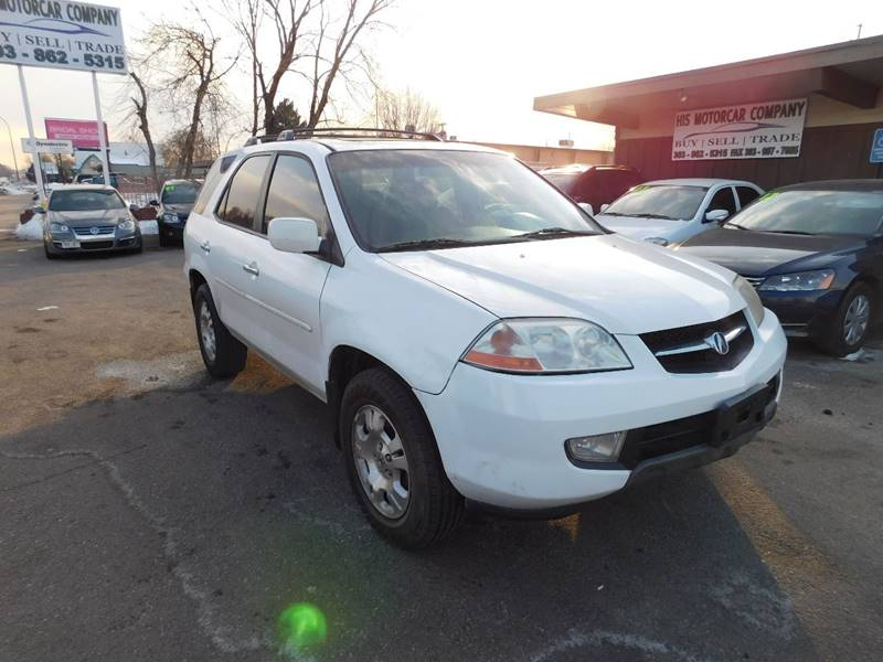 Acura Mdx Touring In Englewood CO His Motorcar Company - 2002 acura mdx gas mileage