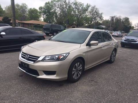 2013 Honda Accord for sale at His Motorcar Company in Englewood CO