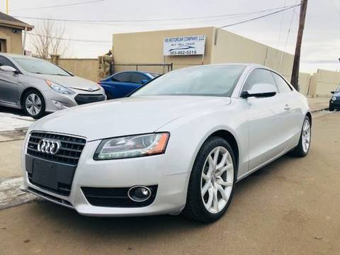 2012 Audi A5 for sale at His Motorcar Company in Englewood CO