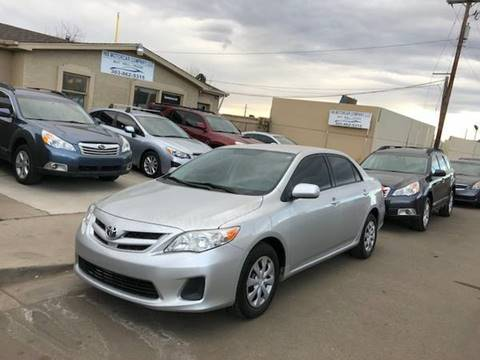 2011 Toyota Corolla for sale at His Motorcar Company in Englewood CO