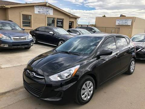2017 Hyundai Accent for sale at His Motorcar Company in Englewood CO