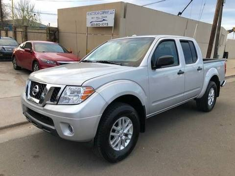 2017 Nissan Frontier for sale at His Motorcar Company in Englewood CO