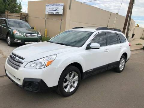2014 Subaru Outback for sale at His Motorcar Company in Englewood CO
