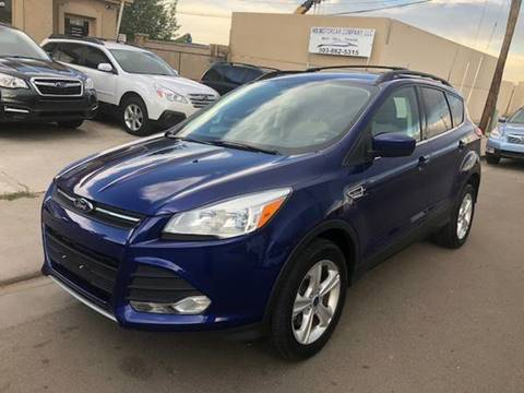 2013 Ford Escape for sale at His Motorcar Company in Englewood CO