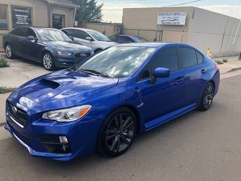 2016 Subaru WRX for sale at His Motorcar Company in Englewood CO