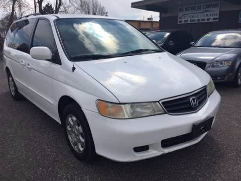 2002 Honda Odyssey for sale at His Motorcar Company in Englewood CO