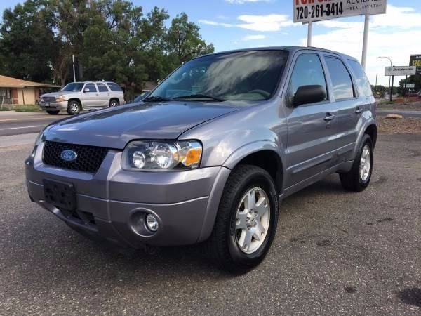 2007 ford escape awd limited 4dr suv in englewood co his motorcar company. Black Bedroom Furniture Sets. Home Design Ideas