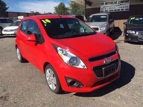 2014 Chevrolet Spark for sale at His Motorcar Company in Englewood CO