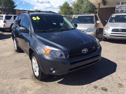 2006 Toyota RAV4 for sale at His Motorcar Company in Englewood CO