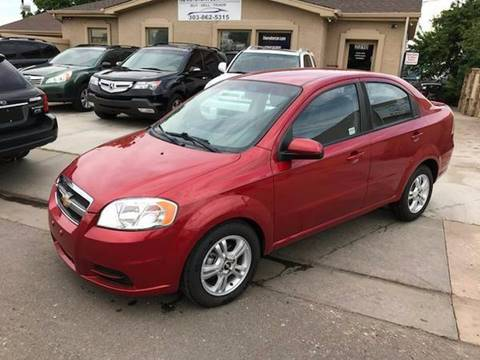 2011 Chevrolet Aveo for sale at His Motorcar Company in Englewood CO