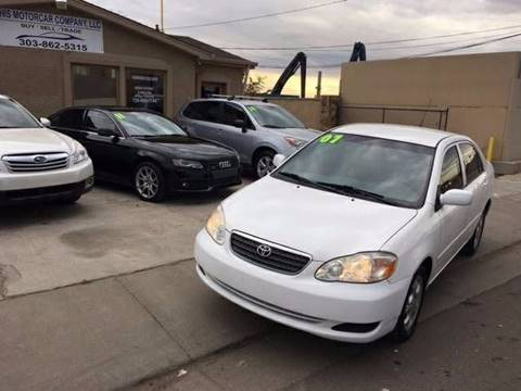 2007 Toyota Corolla for sale at His Motorcar Company in Englewood CO
