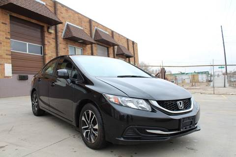 2013 Honda Civic for sale at His Motorcar Company in Englewood CO