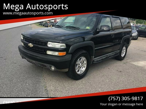 2005 Chevrolet Tahoe for sale at Mega Autosports in Chesapeake VA