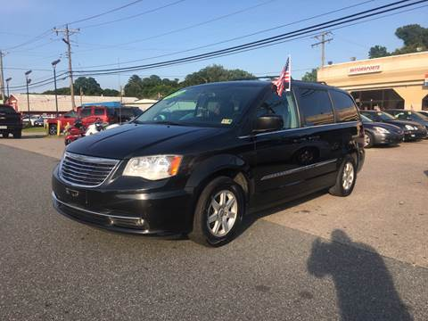 2012 Chrysler Town and Country for sale at Mega Autosports in Chesapeake VA