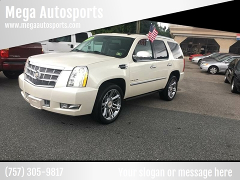 2012 Cadillac Escalade for sale at Mega Autosports in Chesapeake VA